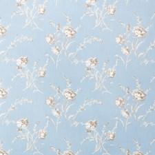 Cornflower Floral Decorator Fabric by Fabricut