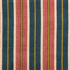 Rose/Te Stripes Decorator Fabric by Lee Jofa