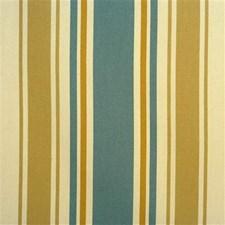 Aqua/Sand Stripes Decorator Fabric by Lee Jofa