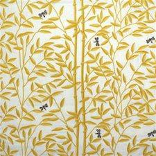 Sun/Tan Botanical Decorator Fabric by Lee Jofa