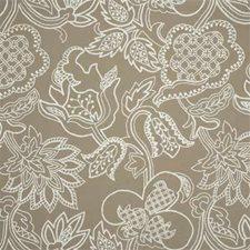 Biscuit Crewel Decorator Fabric by Lee Jofa