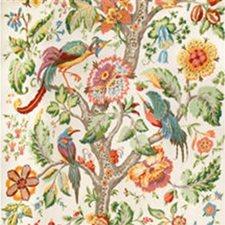 White Print Decorator Fabric by Lee Jofa
