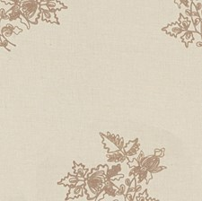 Lavender Embroidery Decorator Fabric by Lee Jofa