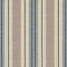 Blue Stripes Decorator Fabric by Lee Jofa
