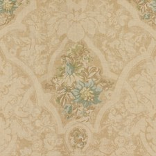 Aquamarine Damask Decorator Fabric by Lee Jofa
