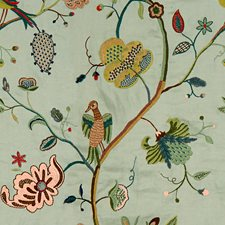 Sky Embroidery Decorator Fabric by Lee Jofa