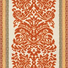 Spice/Gold Damask Decorator Fabric by Lee Jofa