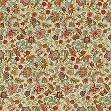 Multi Botanical Decorator Fabric by Lee Jofa