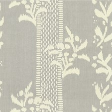 Grey Print Decorator Fabric by Lee Jofa