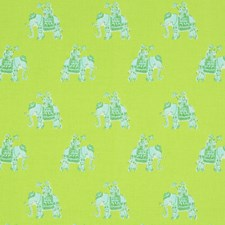 Lush Green Animal Decorator Fabric by Lee Jofa
