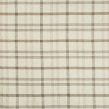Stone/Mink Plaid Decorator Fabric by Lee Jofa