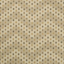 Beige/Grey Ethnic Decorator Fabric by Lee Jofa