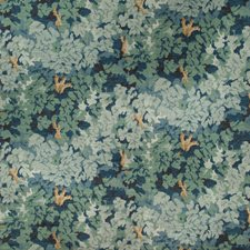 Lagoon Botanical Decorator Fabric by Lee Jofa