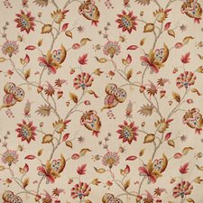 Spice Botanical Decorator Fabric by Lee Jofa
