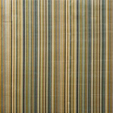 Gold/Teal Stripes Decorator Fabric by Lee Jofa