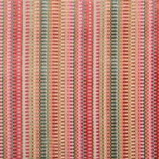 Multi/Russet Geometric Decorator Fabric by Lee Jofa