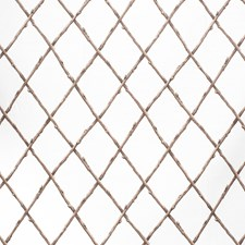 Bro/Whi Lattice Decorator Fabric by Lee Jofa