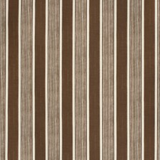 Brown Stripes Decorator Fabric by Lee Jofa