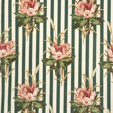 Pink Botanical Decorator Fabric by Lee Jofa