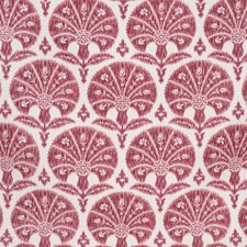 Crimson Botanical Decorator Fabric by Lee Jofa