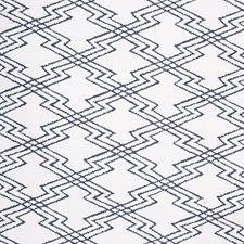 Navy Ethnic Decorator Fabric by Lee Jofa