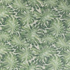Green Botanical Decorator Fabric by Lee Jofa