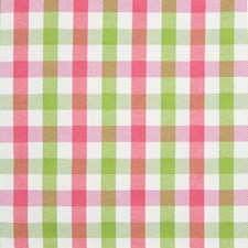Melon Check Houndstooth Decorator Fabric by Greenhouse