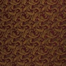 Burgundy/Red/Yellow Lattice Decorator Fabric by Kravet