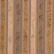 Beige/Green/Brown Stripes Decorator Fabric by Kravet