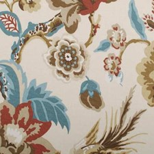 Natural Birds Decorator Fabric by Duralee