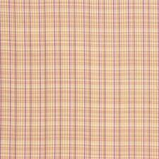 Beige/Purple/Yellow Plaid Decorator Fabric by Kravet