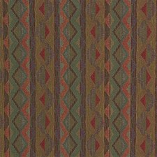 Green/Rust Decorator Fabric by Kravet