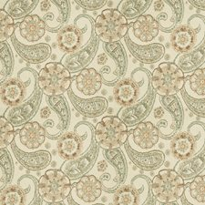 Tangerine Floral Decorator Fabric by Fabricut