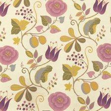 Plum/tequila Decorator Fabric by B. Berger