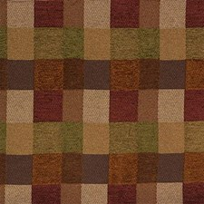 Green/Rust Modern Decorator Fabric by Kravet