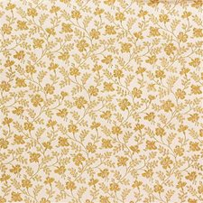 Yellow/Beige Botanical Decorator Fabric by Kravet