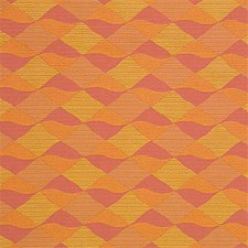 Yellow/Rust/Pink Crypton Decorator Fabric by Kravet