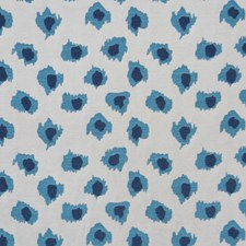 Blue Ink Decorator Fabric by RM Coco