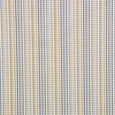 Blue/Yellow/Beige Plaid Decorator Fabric by Kravet