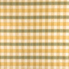 Lemon Lime Check Decorator Fabric by Fabricut