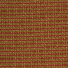 Yellow/Burgundy/Red Dots Decorator Fabric by Kravet