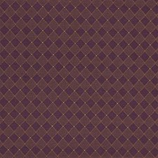 Purple/Yellow/Rust Diamond Decorator Fabric by Kravet