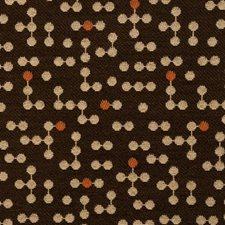 Mocha Cream Contemporary Decorator Fabric by Fabricut