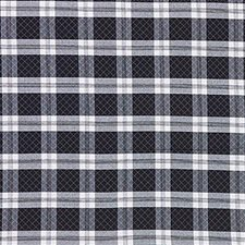 Black/White Plaid Decorator Fabric by Kravet