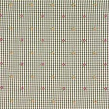 Beige/Green/Pink Botanical Decorator Fabric by Kravet
