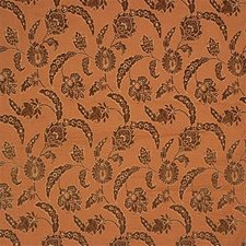 Yellow/Brown Damask Decorator Fabric by Kravet