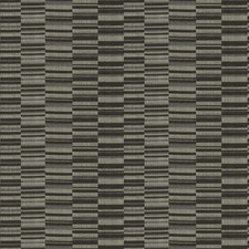 Carob Geometric Decorator Fabric by S. Harris