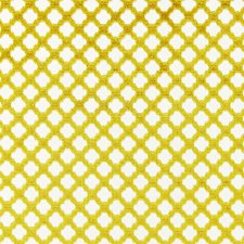 Chartreuse Cut Velvet Decorator Fabric by Scalamandre