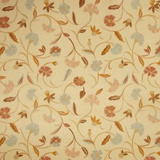 Sand Floral Decorator Fabric by Fabricut