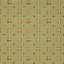Green/Burgundy/Red Plaid Decorator Fabric by Kravet